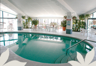 Experience The Interior Pool Exclusively At Northside Solarium Location